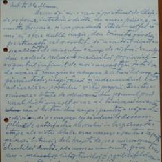 Scrisoare olografa Petru Groza catre Manu Petru, Divizia 17 A.A., 1943 - Autograf
