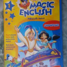 DISNEY MAGIC ENGLISH DVD, VOL 1 HELLO SALUT - Film animatie, Romana