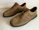 Pantofi de vara - sandale barbati din piele Rieker Antistress mar.44, Maro, Adidas
