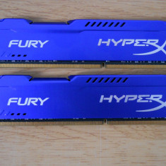 Kit Memorie RAM Kingston HyperX Fury 16 GB (2 X 8 GB) 1866 Mhz., DDR 3, Dual channel