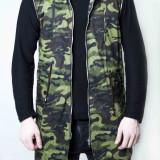 Geaca Vesta Philipp Plein Camo gen moncler dsquared Philipp Plein - Imbracaminte outdoor, Marime: XL