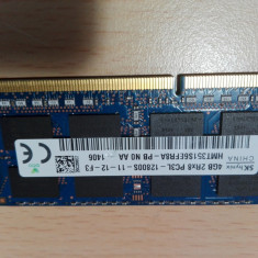 Memorie RAM laptop HP 4GB ddr3