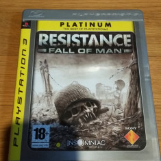 PS3 Resistance Fall of man Platinum - joc original by WADDER - Jocuri PS3 Sony, Shooting, 18+, Multiplayer