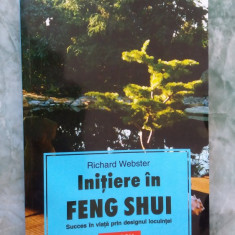 Initiere In Feng Shui - Richard Webster - Carte amenajari interioare