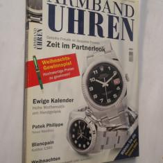 Revista ARMBAND UHREN.