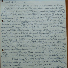Scrisoare olografa Petru Groza catre Alexandru Maxim, Deva, 1942 - Autograf