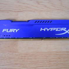 Memorie RAM Kingston HyperX Fury 8 GB (1 X 8 GB) 1866 Mhz., DDR 3