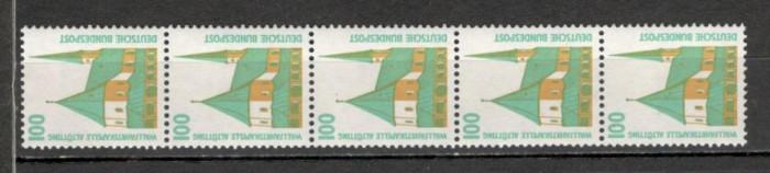 Germania.1989 Frumuseti turistice-cu nr. pe spate  SG.1393