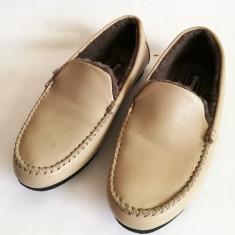 Pantofi de dama imblaniti Fortuna mar.40 - Pantofi barbat Adidas, Marime: 42, Culoare: Maro, Piele naturala