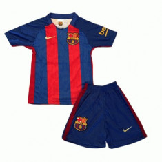 Echipament copii BARCELONA, 10 MESSI, 4-16 ANI - Set echipament fotbal, Marime: YXXL, YXL, YM, YS, YXS