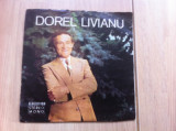 "dorel livianu cantecel de dor si of single 7"" disc vinyl muzica usoara romante"