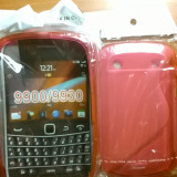 Capac spate BlackBerry 9900/9930, Blackberry 9360, Alb, Silicon, Accessorize