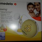 Pompa san electrica Medela Swing+tetina calma+ geanta termoizolanta medela