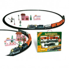 Trenulet electric pt calatori si marfa Intl Express Classic