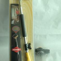 Set compresor pulverizator de apa nou cu perie si recipient de sapun
