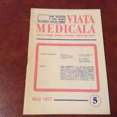 revista Viata Medicala - nr 5 / mai - anul 1977 !!!