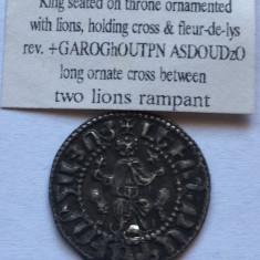 ARMENIA 1 TRAM 1198-1219 REGELE CILICIAN LEVON I. AG.GRAMAJ 2.80. - Moneda Antica, Europa