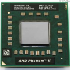 PROCESOR AMD Phenom II P960 Quad Core 1.8GHz Socket S1g4 - Procesor laptop AMD, 1500- 2000 MHz, Numar nuclee: 4