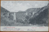 Oravita - Anina ; Viaductul , circulata , 1905, Printata