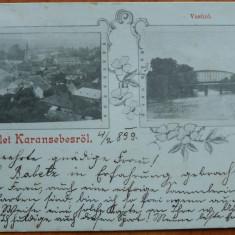 Caransebes , circulata , 1899 , clasica, Printata