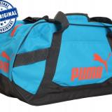 Geanta Puma Active TR - geanta originala - geanta sport - geanta echipament - Geanta Barbati Puma, Marime: Marime universala, Culoare: Albastru