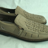 Pantofi sandale barbati din piele Rieker antistress mar.44