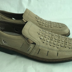 Pantofi Sandale barbati Adidas din piele Rieker antistress mar.44, Marime: 42, Culoare: Maro