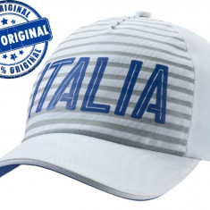 Sapca Puma Italia - sapca originala - Sapca Barbati Puma, Marime: Marime universala, Culoare: Alb