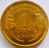 Moneda 1 Franc - FRANTA, anul 1939 *cod 4432, Europa