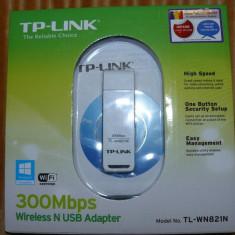 Stick USB retea wireless TP-LINK TL-WN821N - Adaptor wireless