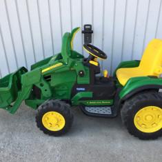Tractor cu acumulator - Masinuta electrica copii