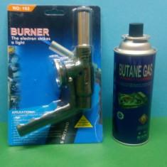 PISTOL arzator gaz+BUTANE GAS