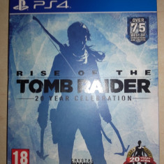 PS4-Joc Rise Of The Tomb Raider, 20 Year Celebration Artbook Edition - Jocuri PS4, Actiune, 18+, Single player