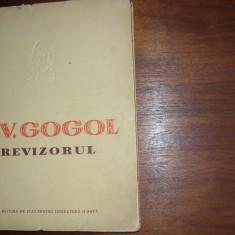 N.V. GOGOL - REVIZORUL ( editia 1952, foarte rara, ilustratii de Perahim ) *