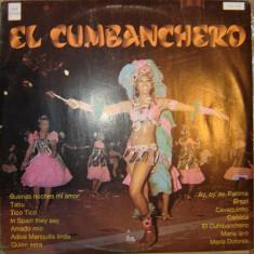 Disc Vinil - El Cumbannchero ! ! ! - Muzica Dance electrecord
