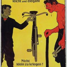 Poster Vintage - Reclama Biciclete - Afis