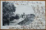 Temesvar , Timisoara , Bega , circulata , 1909 , clasica, Printata