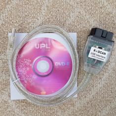 Interfata diagnoza/ tester BMW INPA K+CAN Chip FTDI si Switch / Buton - Interfata diagnoza auto