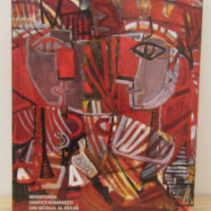 REPERTORIUL GRAFICII ROMANESTI DIN SEC. AL XX-LEA, VOL. VIII ( LITERA SA-SCHM ) - Album Pictura
