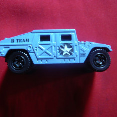 Masinuta  Militara Humvee -Matchbox BTeam , L= 6,3 cm