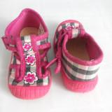Pantof fetite din material textil