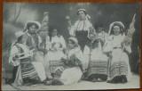 Costume populare ; Sezatoare , Orastie , Foto Adler , circulata , 1911, Fotografie