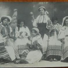 Costume populare ; Sezatoare, Orastie, Foto Adler, circulata, 1911 - Carte Postala Transilvania 1904-1918, Fotografie