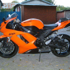 Kawasaki ninja zx-6r 2007 - Motociclete