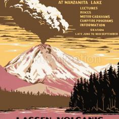 Poster Vintage - Reclama Turism, America - Afis
