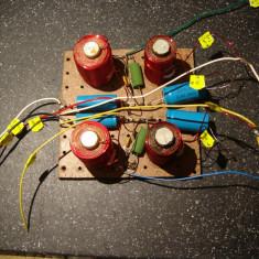 Filtru audio stereo Tonsil 8ohmi/40-80W. Separare woofer /sateliti
