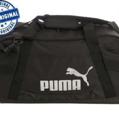 Geanta Puma Active TR - geanta originala - geanta sport - geanta echipament - Geanta Barbati Puma, Marime: Marime universala, Culoare: Negru