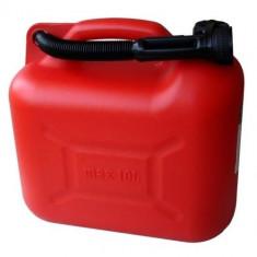 Canistra plastic cu palnie flexibila 10 L - Canistra Benzina