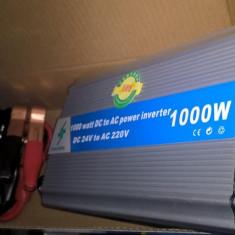 Invertor tensiune 24V/220V -1000W