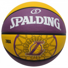 MINGE BASCHET SPALDING LOS ANGELES LAKERS MAR. 7